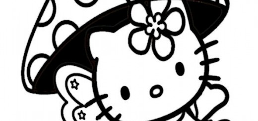 ausmalbilder hello kitty-233