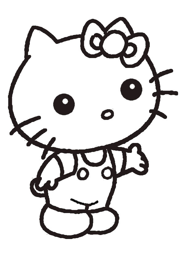 ausmalbilder hello kitty-235