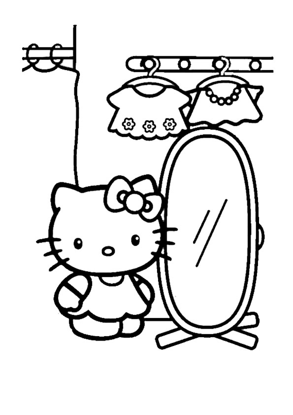 ausmalbilder hello kitty-236