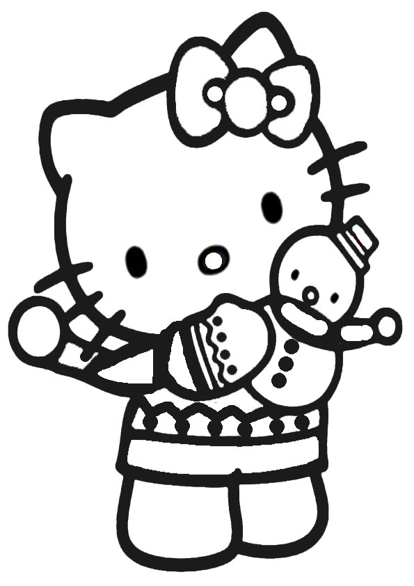 ausmalbilder hello kitty-241