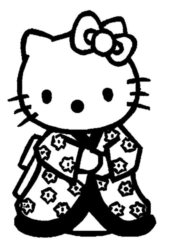 ausmalbilder hello kitty-247