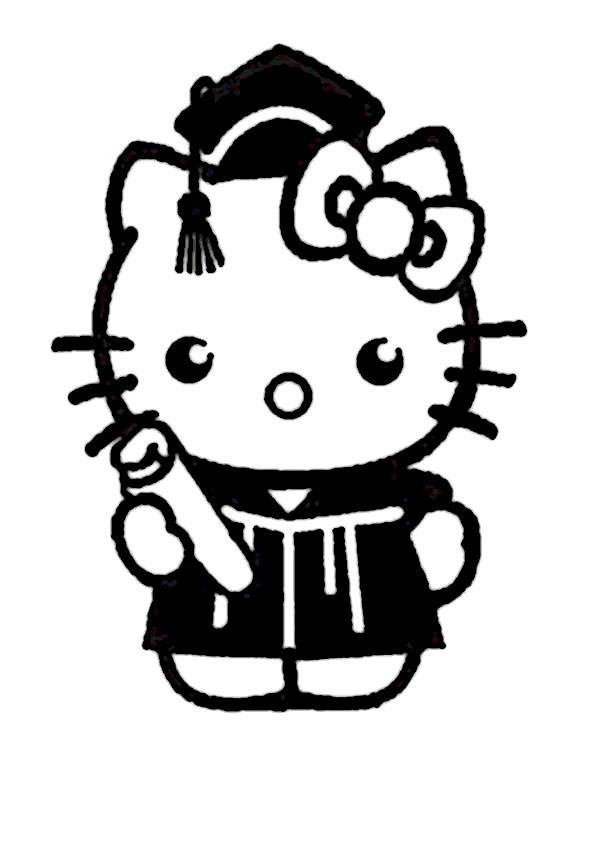 ausmalbilder hello kitty-248