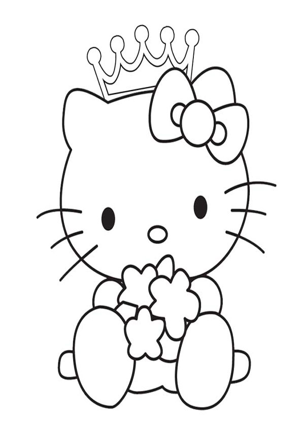 ausmalbilder hello kitty-249