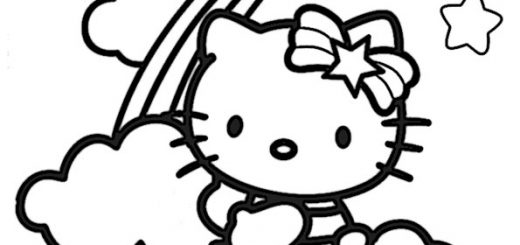 ausmalbilder hello kitty-259
