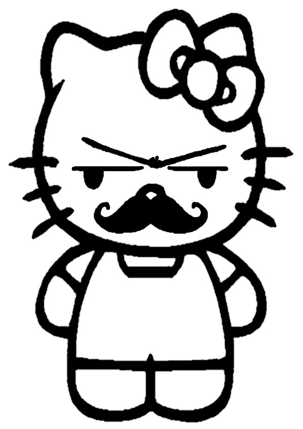 ausmalbilder hello kitty-261