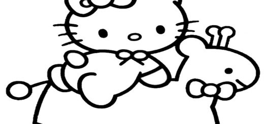 ausmalbilder hello kitty-264