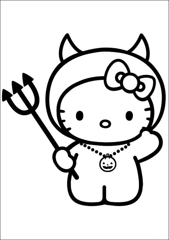 ausmalbilder hello kitty-266