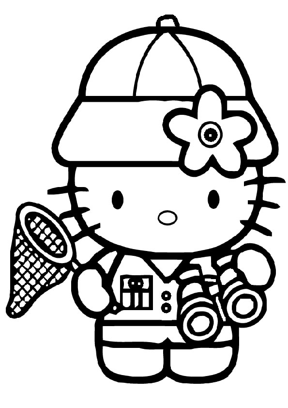 ausmalbilder hello kitty-267