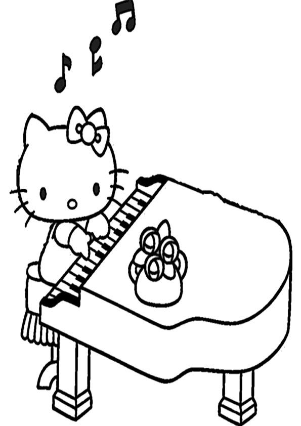 ausmalbilder hello kitty-268