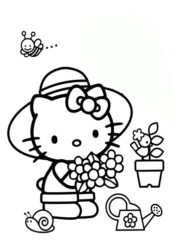 ausmalbilder hello kitty-269