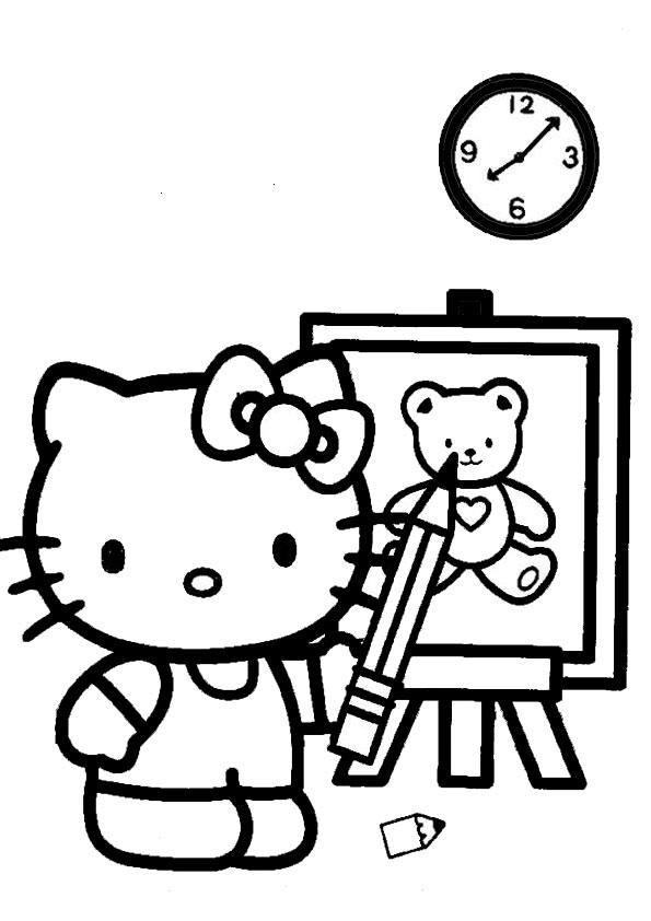 ausmalbilder hello kitty-272