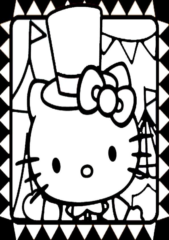 ausmalbilder hello kitty-275