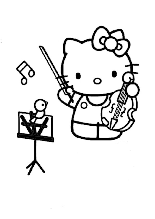 ausmalbilder hello kitty-276