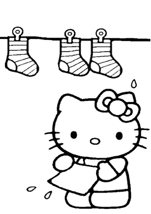 ausmalbilder hello kitty-277