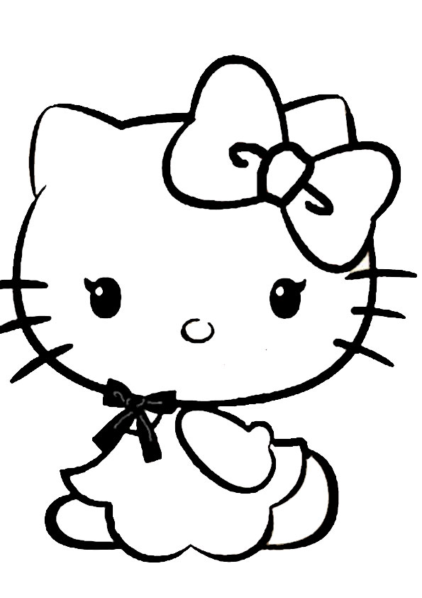 ausmalbilder hello kitty-279