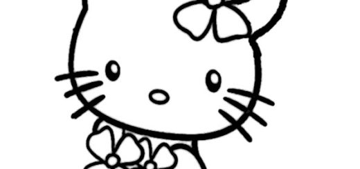 ausmalbilder hello kitty meerjungfrauen, malvorlagen hello kitty meerjungfrauen-5