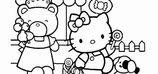 ausmalbilder hello kitty-284