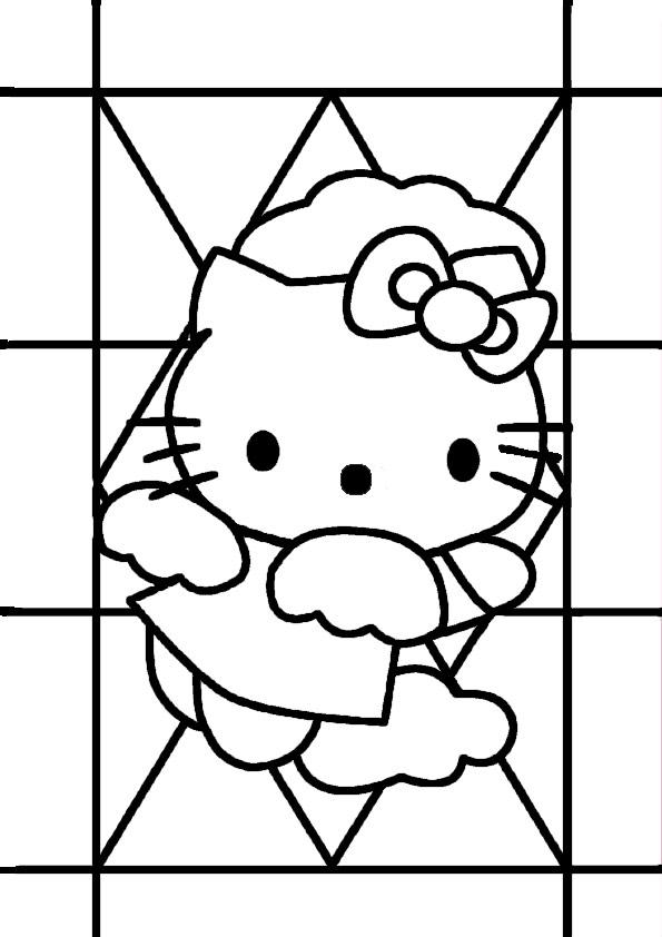 ausmalbilder hello kitty-290