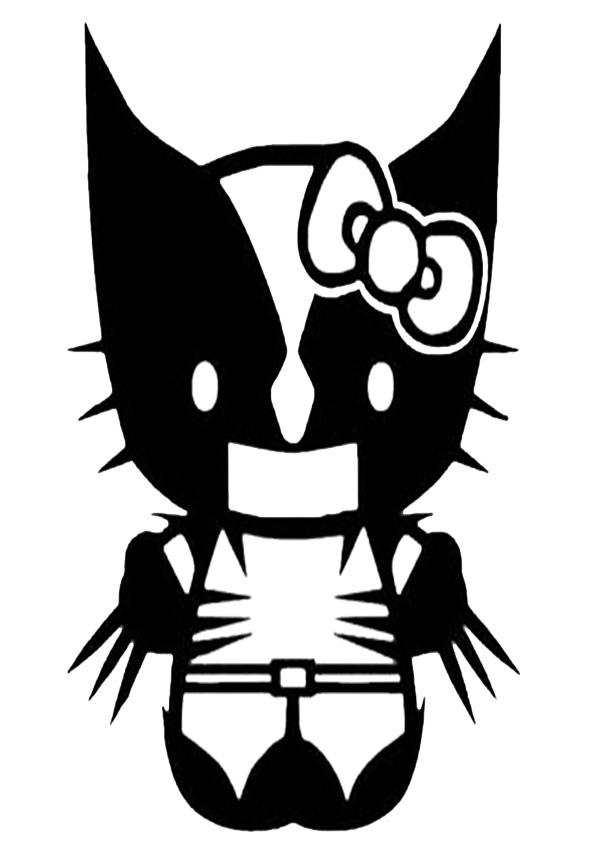 ausmalbilder hello kitty- 298