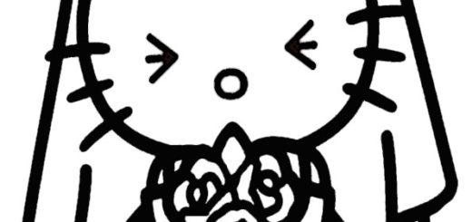 ausmalbilder hello kitty-301