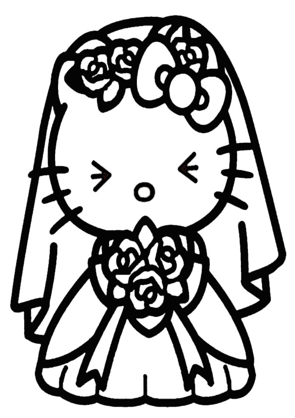 ausmalbilder hello kitty-301