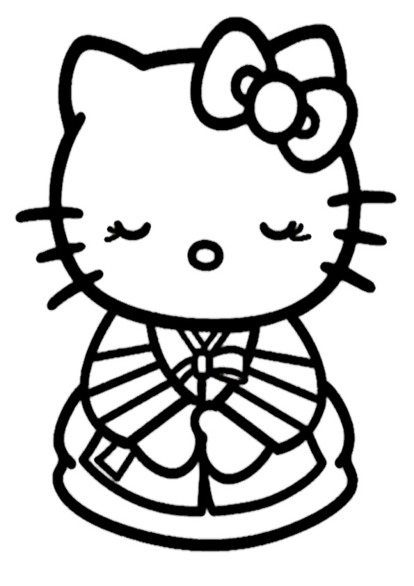 ausmalbilder hello kitty-306
