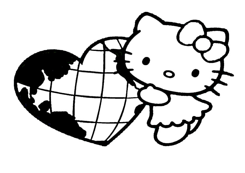 ausmalbilder hello kitty-307