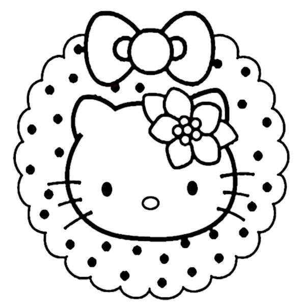 ausmalbilder  weihnachten hello kitty-32