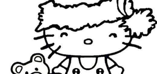 ausmalbilder weihnachten hello kitty 15 ausmalbilder. Black Bedroom Furniture Sets. Home Design Ideas