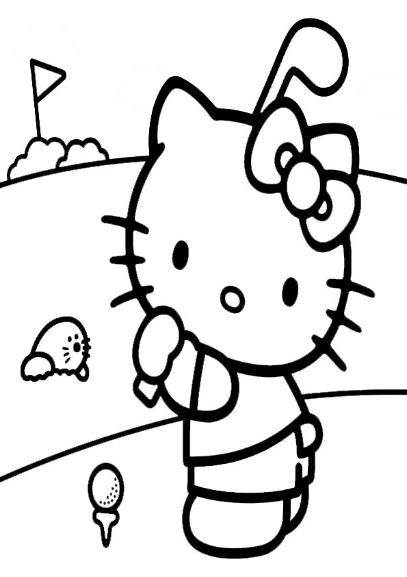 ausmalbilder  hello kitty -310