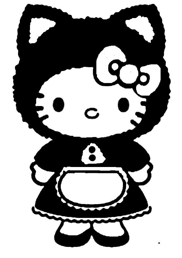 ausmalbilder  hello kitty -317