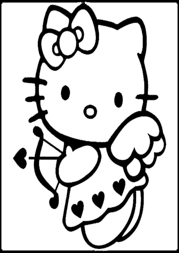 ausmalbilder  hello kitty -322