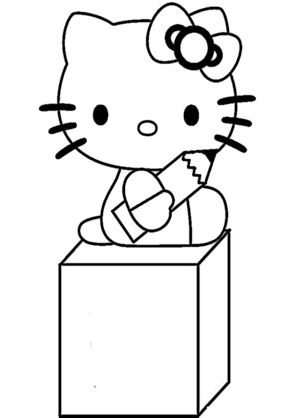 ausmalbilder hello kitty -323