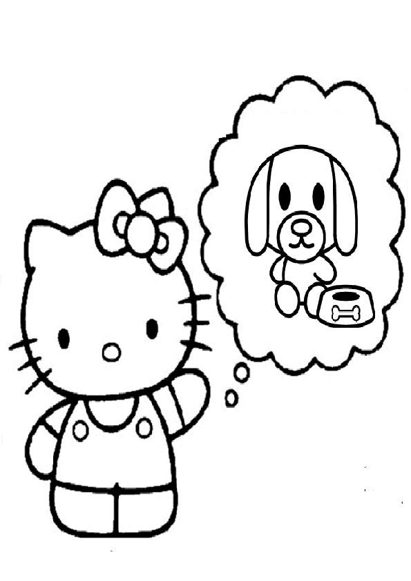 ausmalbilder  hello kitty -324