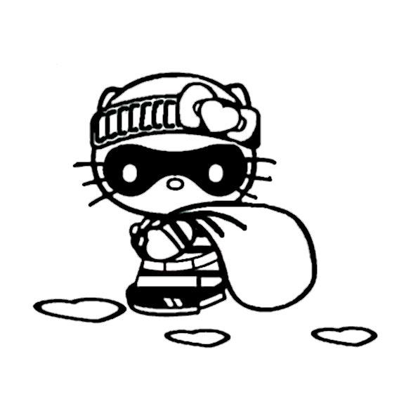 ausmalbilder hello kitty-326