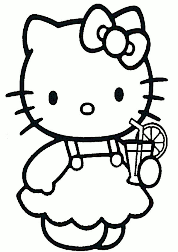 ausmalbilder hello kitty -327