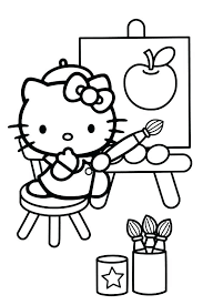 ausmalbilder hello kitty -328
