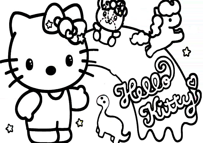 ausmalbilder  hello kitty -329