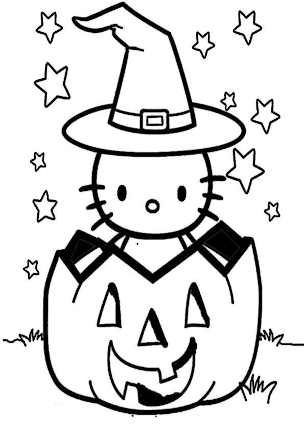 ausmalbilder halloween -25