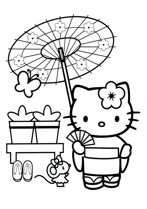 ausmalbilder  hello kitty -130
