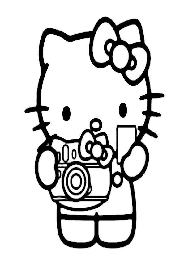 ausmalbilder hello kitty -333