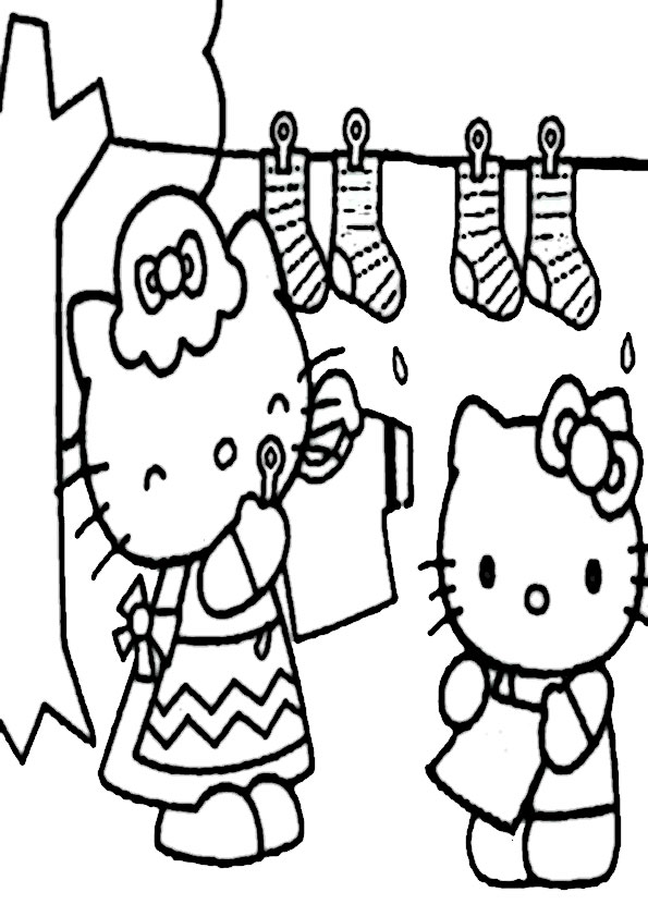 ausmalbilder hello kitty-335