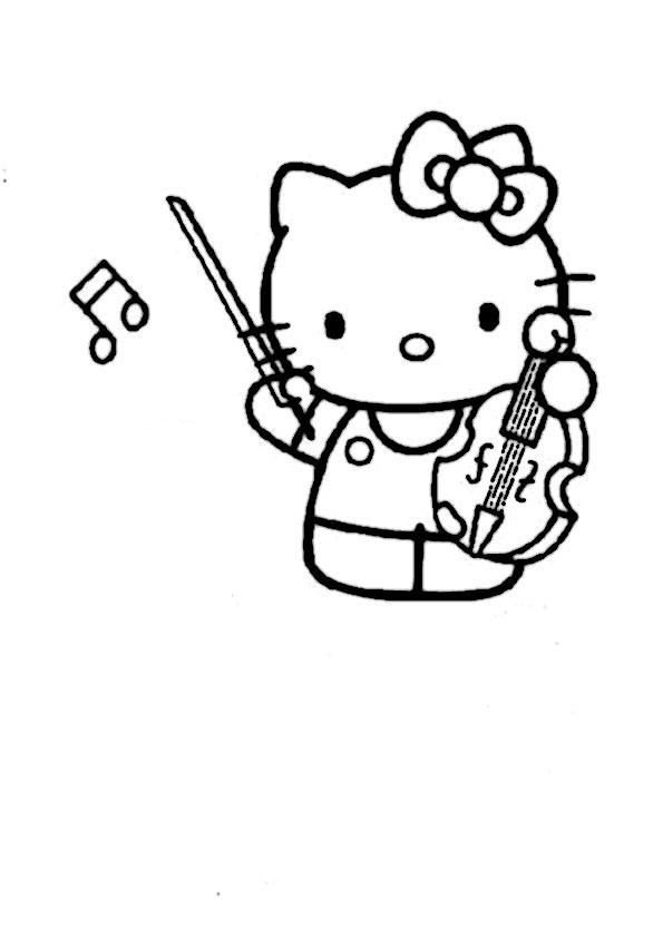 ausmalbilder hello kitty-336