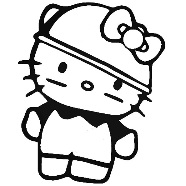 ausmalbilder hello kitty-340