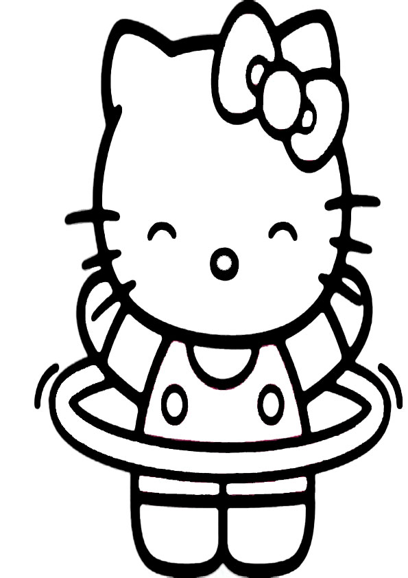 ausmalbilder hello kitty-344