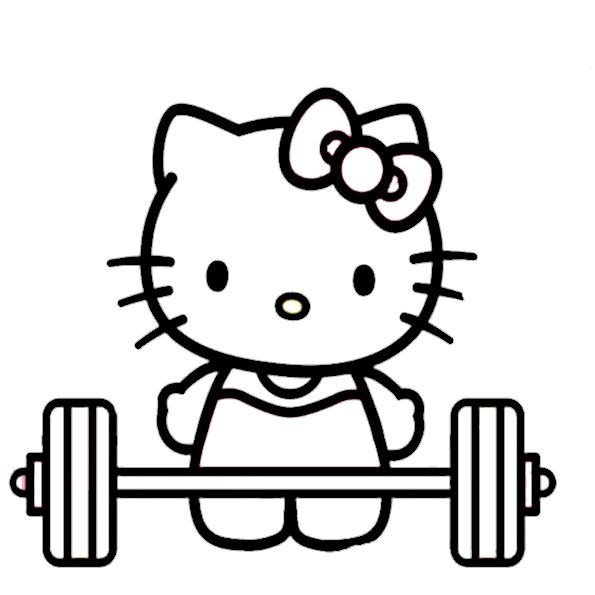 ausmalbilder hello kitty-345