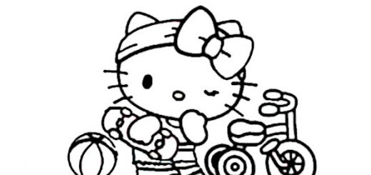 ausmalbilder hello kitty-339