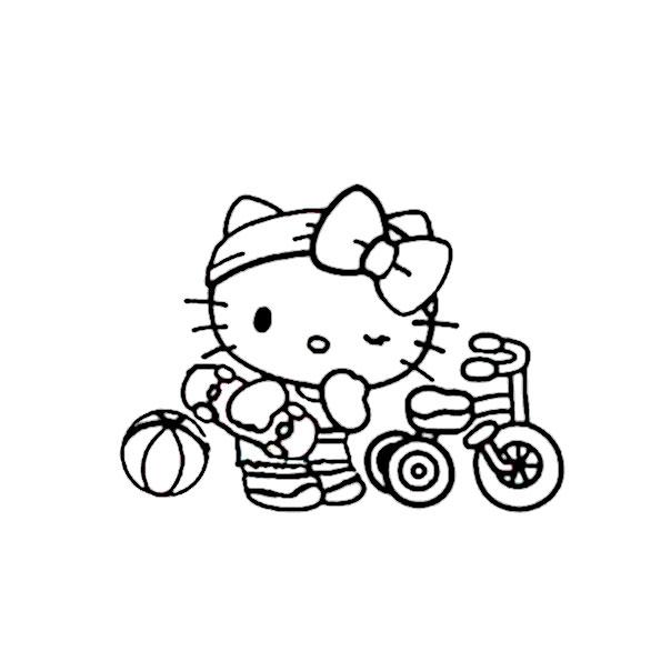 ausmalbilder hello kitty-339