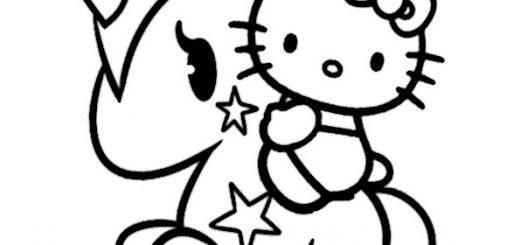 ausmalbilder hello kitty-340